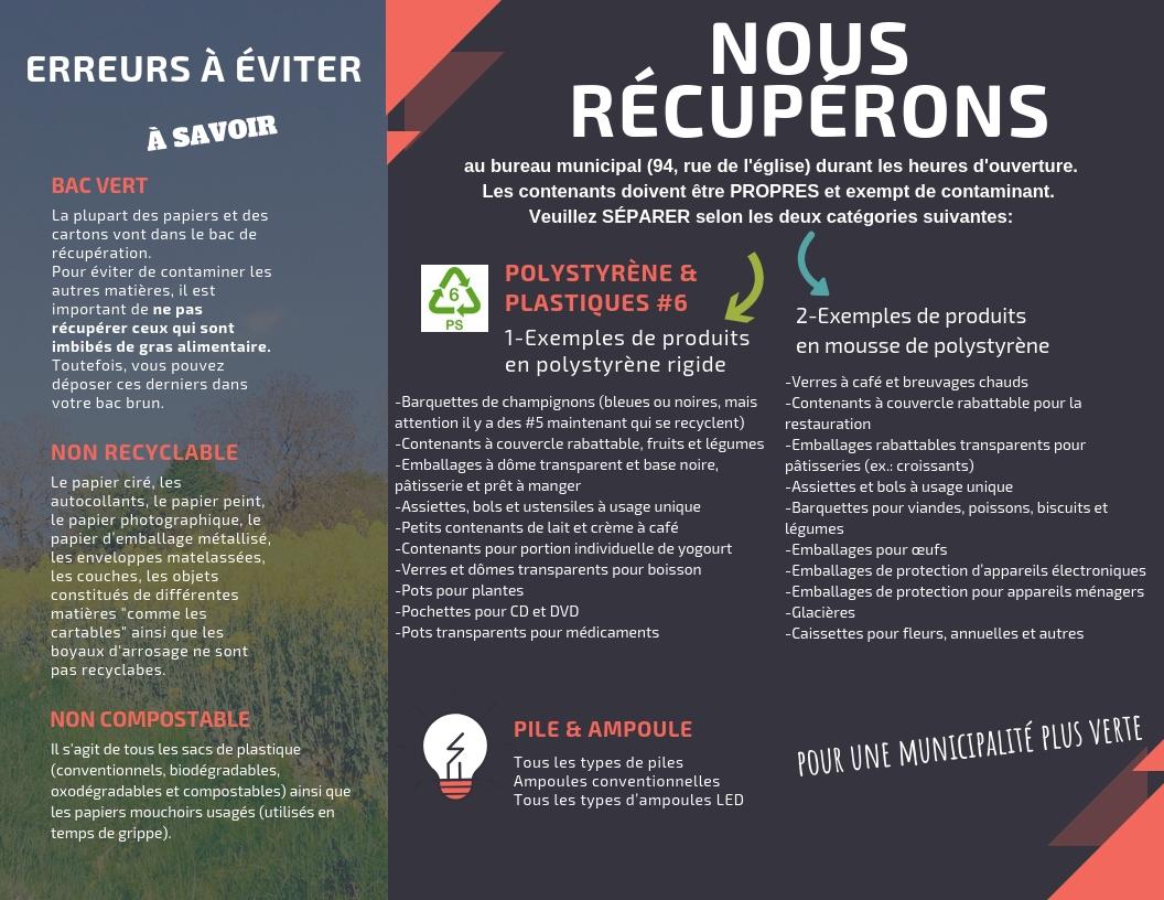 Le Papier Peint Est Il Recyclable déchets et recyclage | mont-saint-michel